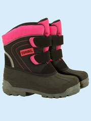 Snowboots, rubber or neoprene wellies and wool socks from Raindrops