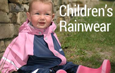 Fashion and function: quality children's rainwear from top quality Scandinavian brands