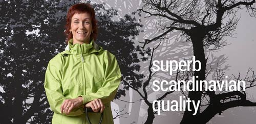 Adult waterproof trousers and jackets: superb Scandinavian quality and practical design