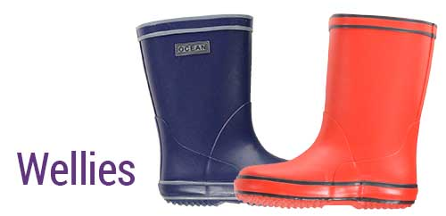 Quality kid's wellies in natural rubber from Denmark