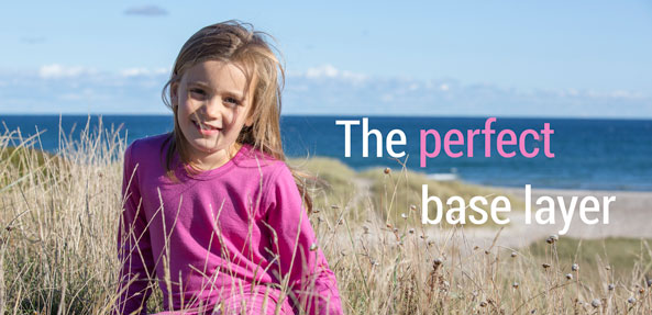 Merino wool thermals for children: the perfect base layer