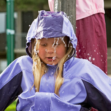 Raindrops' top tips for choosing rainwear