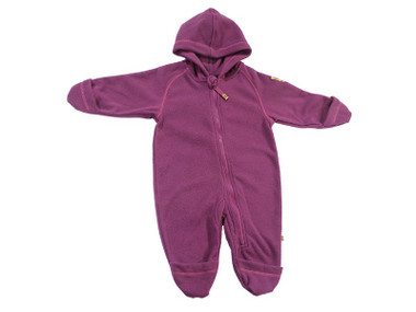 Soft thermal fleece romper suit