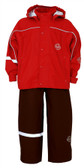 Waterproof jacket and trouser set from Abeko, Sweden