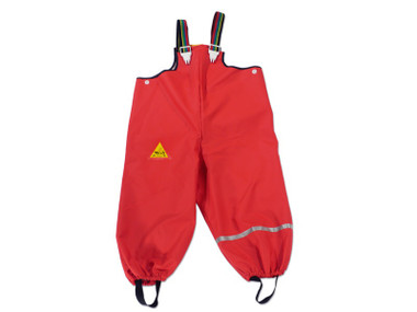 Tells 100% waterproof, breathable dungarees from scandinavia