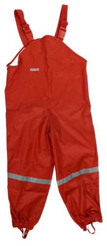 Red Ocean Waterproof Dungarees