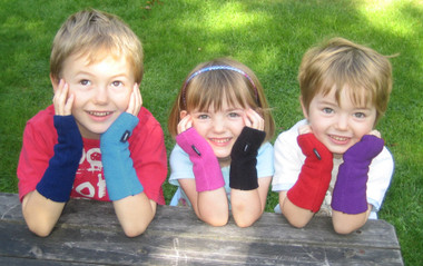 Kids Love Wristies!! An assortment of the available colours!