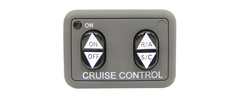 Universal cruise control w/ Dash pad switch for Electronic speedometer