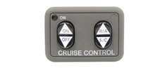 250-3593 Universal Cruise Control Switch Dash Mount Without Engage light