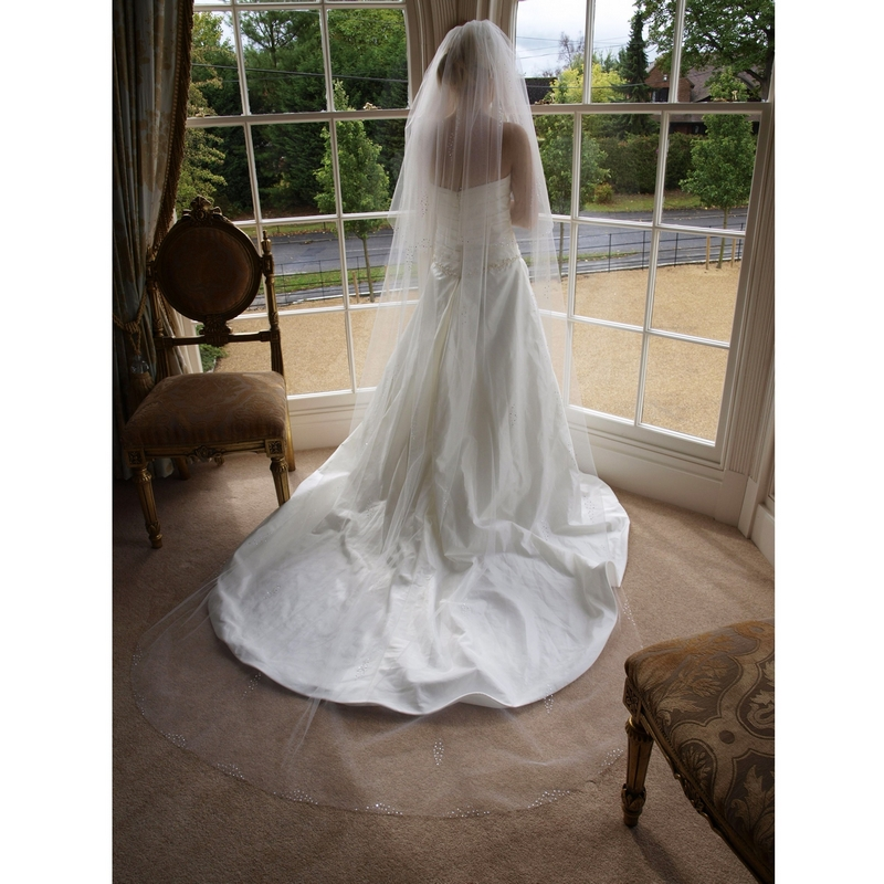 long wedding veil