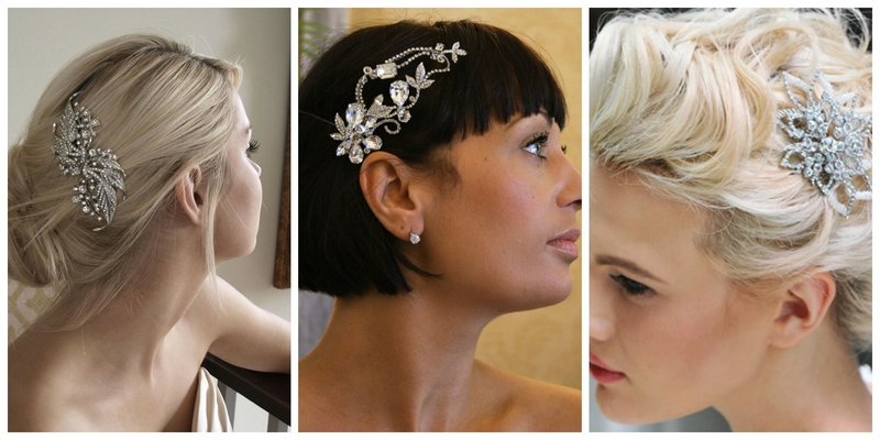 wedding hair combs