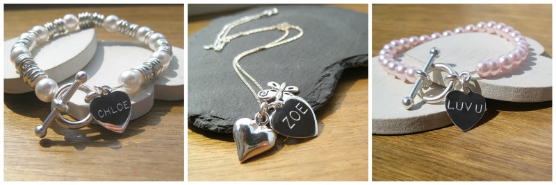 personalised wedding jewellery
