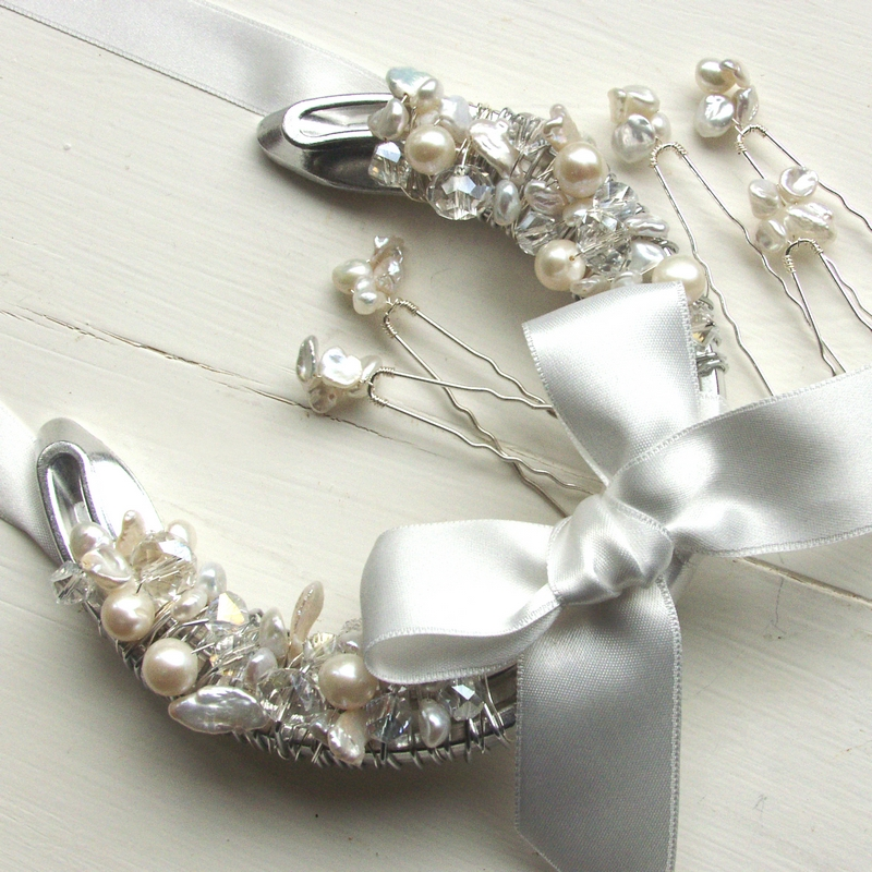 UK handmade wedding horseshoe