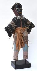 Dan Stilt Dancer Doll, Ivory Coast