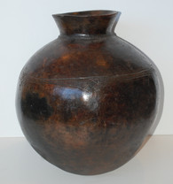 Lobi Ceramic Water Pot, Burkina Faso