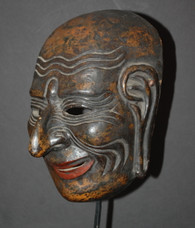 19c Japanese Lacquer Mask