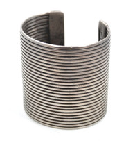 Antique Hill-Tribe Silver Tribal Cuff