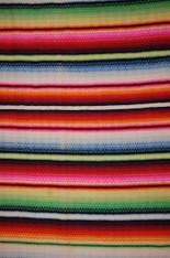 Woven Saltillo Blanket 1930s