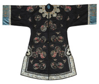 Antique Chinese Embroidered Silk Court Robe SOLD