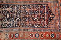 """Antique Caucasian Malayer Rug 113"""" x 62"""""""