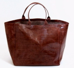 Leather Tote Bag Senegal Hot Moon Collection