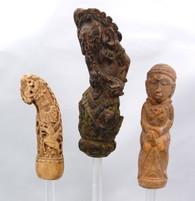 Antique Indonesian Keris Dagger Handles