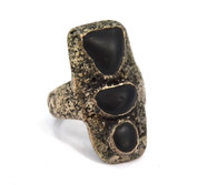 Organic Stone Ring By Lou Zeldis SOLD