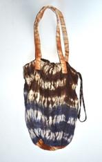 Japanese Woven Shibori Bag