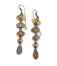 Lou Zeldis Pebble Sterling Earrings