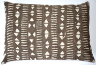 African Mud Cloth Pillow SOLD
