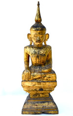 19c Seated Buddha, Laos