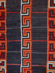 Navajo Transitional Blanket 1880