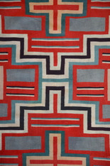Navajo Germantown Weaving c1900 SOLD