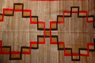 Early Navajo Interlocking Cloud Rug SOLD
