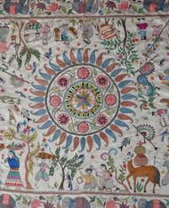Early Silk Kantha by Sreelata Sarkar