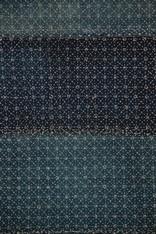 Antique Japanese Sashiko Stitched Indigo Blanket  SOLD