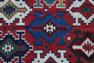 Antique Large Caucasian Kilim