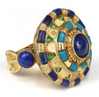 22k Gold Byzantine Ring SOLD