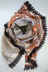 Cotton& Silk Shawl by Yaser Shaw