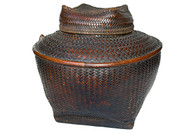 Antique Philippine Ifugao Storage Basket SOLD