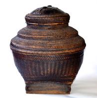 Large Philippine Ifugao Storage Basket, Henry Beyer Collection