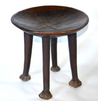 19th-C African Stool Sudan