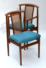 Dux Teak Dining Chairs by Sylve Stenquist