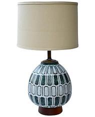 Midcentury Ceramic Lamp SOLD