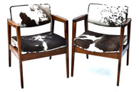 Mid Century W.H. Gunlocke Lounge Chair Pair SOLD