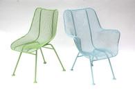 Mid Century  Russell Woodard Sculptura Patio Chairs