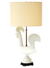 Aldo Londi for Bitossi Rooster Lamp SOLD