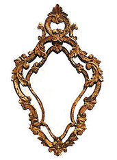 Antique Florentine Giltwood Mirror