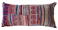 Akha Tribal Textile Pillow