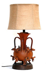 1950's Mexican Ceramic Lamp by Heron Martinez SOLD
